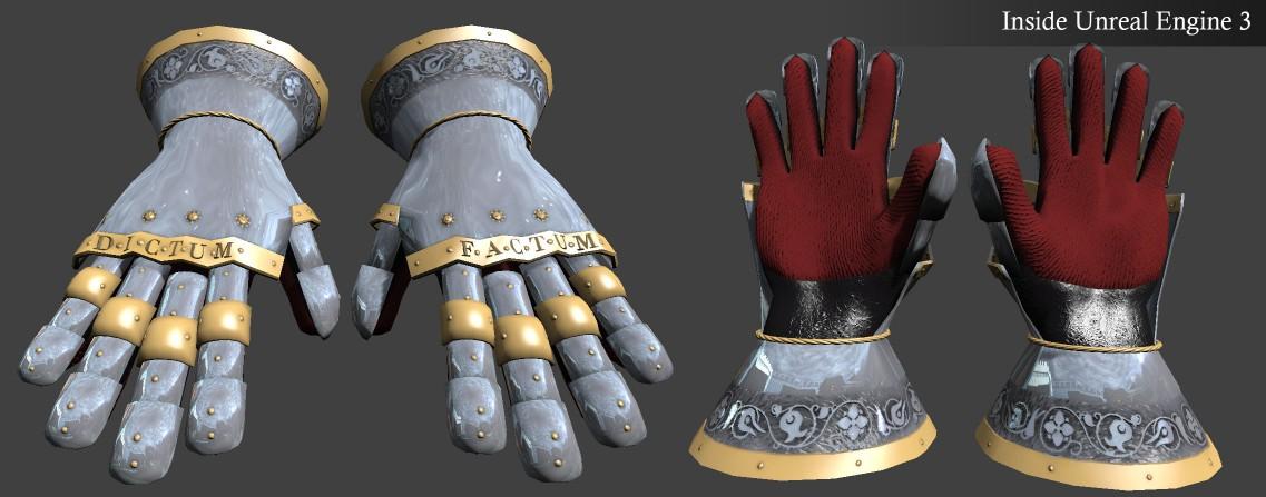 MedievalGloveUnreal3